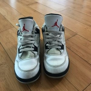 Toddler Nike Air Jordan IV Shoes Sz 13c GUC